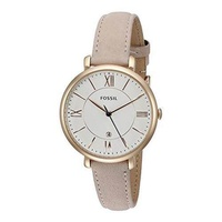 [Fossil] Fossil Women's ES3988 Jacqueline Blush Leather Strap Watch [From USA] - intl