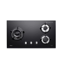 RINNAI RB-73TG 3-BURNER BUILT-IN HOB