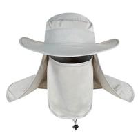 Sunscreen Hat Fashion Summer Outdoor Waterproof Anti-uv Fishing Hat