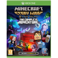 XBOX ONE 我的世界:故事劇情模式完整版(含1-8章節) -中文英文版- Minecraft Story Mode Complete Edition