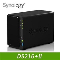 Synology DS216+II NAS  網路儲存伺服器