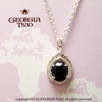 Georgia Tsao [全新]圓框寶石項鍊