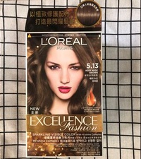 LOREAL巴黎萊雅染髮劑 #5.13炭灰自然棕