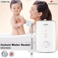 Mistral Instant Water Heater - MSH606 (5 Years Warranty On Heating Element)