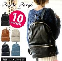日本Legato Largo /時尚大容量仿皮革後背包/LH-H1141* 00009993-日本必買 日本樂天代購(4860*1.839)
