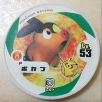 神奇寶貝Tretta可刷~暖暖豬~特殊圓盤P卡~附官方卡套~台灣可刷