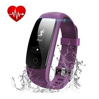 Fitness Tracker with Heart Rate Monitor, Runme Activity Tracker Smart Watch with Sleep Monitor, Wate
