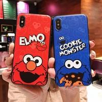 Vivo Y55 Y66 Y67 V7 Y71 Y75 Y79 V79 Y83 Y81 Y91 Y95 Y93 Sesame Street Phone Case