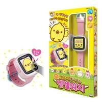 竹北kiwi玩具屋_ 伯寶行代理 正版 可愛小雞養成電子錶 電子雞 小雞手錶(中文版)_10409206