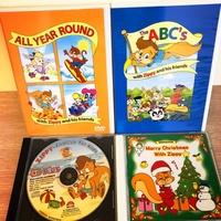 寰宇迪士尼 Zippy 系列DVD、遊戲光碟、Christmas song