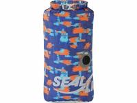 【鄉野情戶外用品店】 SealLine  美國  Blocker防水袋10L 方形防水收納袋/防水袋/防水打包 藍迷彩-09761