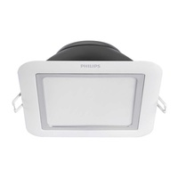 Philips Lighting - HUE - 59002 APHELION Square (5 Inch) - White Ambience - Downlight - 9W