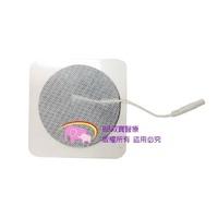 7.5*7.5插銷式電療貼片圓形 電療器貼片 低週波電療器導電片 自黏性電極片 插銷式貼片