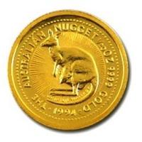 1994 澳洲 袋鼠 金幣 0.05盎司 -Shiny炫麗珠寶