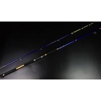 【K&T釣具嚴選】2.28米80-100號直柄鐵板竿\\斑竿\\船釣竿\\雷強竿