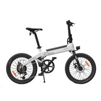 [EU Direct] HIMO C20 10Ah 36V 250W 20 Inch Foldable Electric Moped Bicycle Brushless Motor 100kg Max Load 23.7km/h Top Speed 80km Mileage Electric Bike Built-in Air Pump US Plug