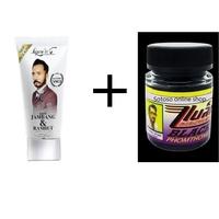 育鬍膏 軟管裝+育鬍膏 超值優惠組合 black phomthong