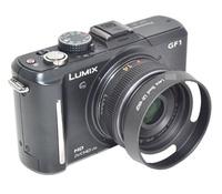 又敗家@uWinka國際副廠Panasonic遮光罩46mm螺牙螺紋螺口遮光罩適Lumix G 14mm f2.5 20mm f1.7 GX7 GX1 GF10 GF6 GF2 GF1 GH3 GH2 G6 G5 G3 ASPH遮陽罩lens hood