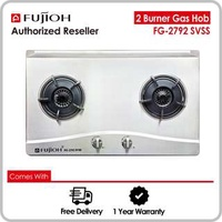 Fujioh FG-2792 SVSS 2 Burner Hob with Stainless Steel Top
