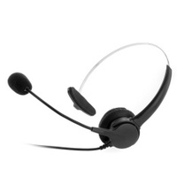 RJ9 Telephone Corded Headset (Black) - intl