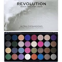 【彩妝學】英國Makeup Revolution 32色眼影盤 │  Eyes Like Angels