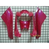 『六扇門』 BWS 全車殼 桃紅 紅色 亮紅色  亮光 車殼 H殼 側蓋 小盾 BWSX 125 烤漆 買斷 全新