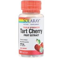 Solaray, 三重力量酸櫻桃水果萃取物,340毫克,90粒素膠囊