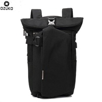 Ozuko Oxford Cloth Backpack Men's Fashion Personality Backpack Casual Usb Charging Travel Backpack
