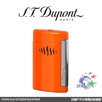S.T. Dupont 法國都彭頂級打火機 - Minijet 防風噴射打火機 / 珊瑚橘色 / 10509 【詮國】
