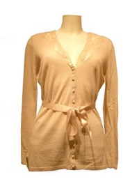 Direct from Germany -  Expresso Strickjacke, 113Hilly, beige, Gr. M (Size:M)