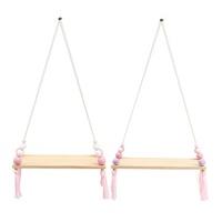 Hanging Wall Shelf Bracket House Decorative Hardware Wooden Plank Nordic Style