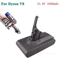 Replacement Battery 21.6V 3500mAh For Dyson V8 Animal Absolute Vacuum Cleaner Tools Lithium Battery