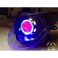 ML客製化魚眼  勁戰三代  四代  LED魚眼大燈