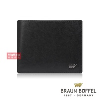 Braun buffel Small Gold Cow Wallet the MEL Series 6 Card Wallet Male bf333 - 312