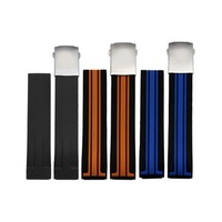 New BLACK/BLUE/ORANGE Silicone Rubber Diver Watch Band Strap For Tissot-T-Race