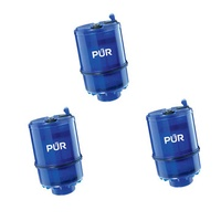 3PCS Water Purification Filter Replacement Parts for PUR MineralClear Faucet with MAXION Filter Technology