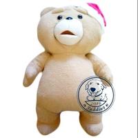日本「熊麻吉」Ted 2.聖誕節.聖誕帽.正版景品.約45公分.大娃娃(景品就是不一樣)高雄市可面交!