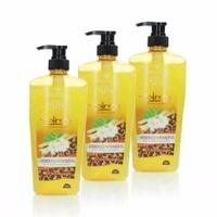 Ginvera World Spa Balinese Shower Scrub Lemongrass & Frangipani 750mlx3