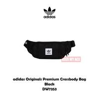 adidas Originals Premium Crossbody Bag 腰包 側背 霹靂包 三夾層 DW7353