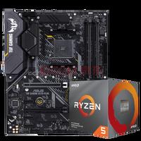 AMD R5/R7 3600X 3700X 3900X CPU+华硕 X570 WIFI版 主板套装 AMD锐龙 R5 3600X盒装CPU 自带原配散热器---不包含主板