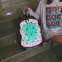 new adidas original clover issey miyake 3d rhombus lingge geometric shoulder bag