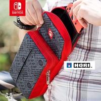 原裝HORI日本 任天堂Switch NS配件單肩包挎包收納包皮卡丘馬里奧 馬里奧塞爾達寶可夢遊戲主機 新款現貨swit