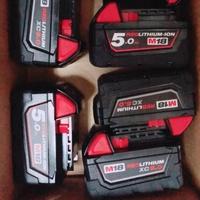 99極新展示品米沃奇18v6.05.0電池