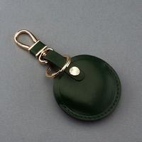 OMC專櫃品牌 義大利植鞣皮革(全套綠色)-gogoro鑰匙皮套 gogoro鑰匙套