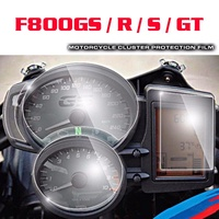 JMCRider For BMW F800GS / R / S / GT Cluster & GPS Navigator Scratch Protection Film Screen Protector
