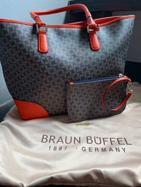 🚚 Braun Buffel tote bag
