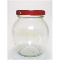 【台灣製】【354 大肚瓶 350cc】【1箱 48支含運】【麗山行】玻璃瓶/玻璃罐/醬菜瓶/花瓜瓶/貯藏罐