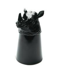 【This-This】日本 Goody Grams Animal Shot Glass 動物造型 SHOT 杯 (一口杯) (Rhino 犀牛)