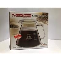 TIAMO 花茶壺 咖啡壺 沖泡壺 600cc 上蓋為pp材質 台灣製