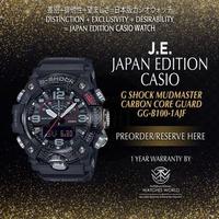 CASIO JAPAN EDITION G SHOCK MUDMASTER CARBON CORE GUARD BLACK GG-B100-1AJF